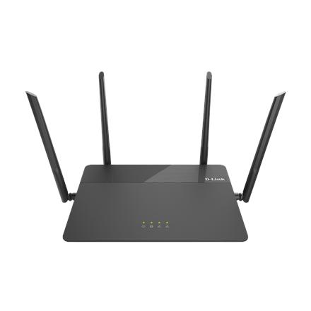 D-Link Router DIR-878 802.11ac, 600+1300 Mbit/s, 10/100/1000 Mbit/s, Ethernet LAN (RJ-45) ports 4, MU-MiMO Yes, Antenna type 4xExternal