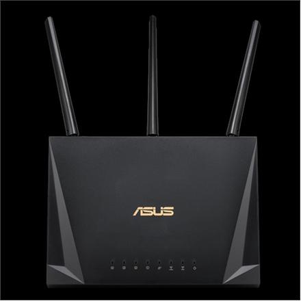 Asus Gaming Router RT-AC85P 802.11ac, 600+1733  Mbit/s, 10/100/1000 Mbit/s, Ethernet LAN (RJ-45) ports 4, MU-MiMO Yes, No mobile broadband, Antenna type 3xExternal/1xInternal, 1xUSB 3.1 Gen1, Parenta