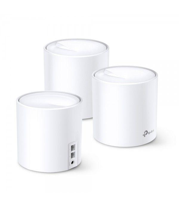 TP-LINK Whole-Home Wi-Fi System Deco X20(3-pack) 802.11ac, 1201 Mbit/s, 10/100/1000 Mbit/s, Ethernet LAN (RJ-45) ports 2