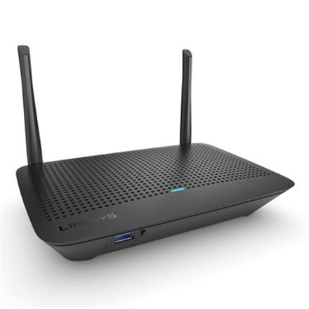 Linksys Dual Band Wi-Fi Mesh Router MR6350 802.11ac, 867+400 Mbit/s, 10/100/1000 Mbit/s, Ethernet LAN (RJ-45) ports 4, Antenna type 2xExternal, 1 x USB 3.0