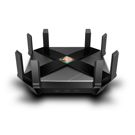 TP-LINK Dual-Band Wi-Fi 6 Router Archer AX6000 802.11ax, 1148+4804 Mbit/s, 10/100/1000 Mbit/s, Ethernet LAN (RJ-45) ports 8, MU-MiMO Yes, Antenna type External