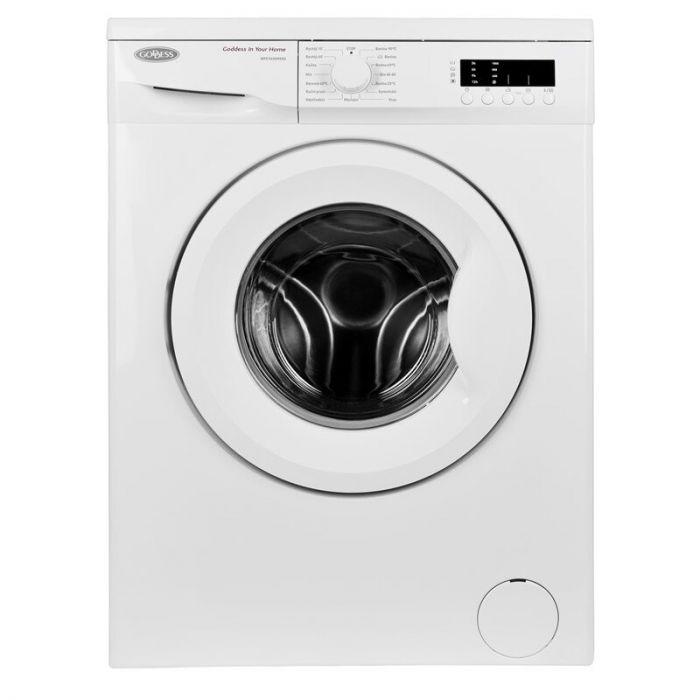 Goddess Washing machine GODWFE1035M9SD Energy efficiency class D, Front loading, Washing capacity 5 kg, 1000 RPM, Depth 41.6  cm, Width 59.7 cm, White, Free standing