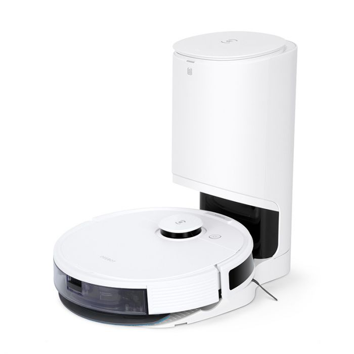 Ecovacs Vacuum cleaner DEEBOT N8+ Wet&Dry, Operating time (max) 110 min, Lithium Ion, 3200 mAh, Dust capacity 0.42 L, White, 36 month(s)