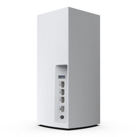 Linksys Tri-Band Wi-Fi Mesh System MX4200-EU 802.11ax, 600 + 1200 + 2400 Mbit/s, 10/100/1000 Mbit/s, Ethernet LAN (RJ-45) ports 3, Mesh Support Yes, MU-MiMO Yes, Antenna type Internal