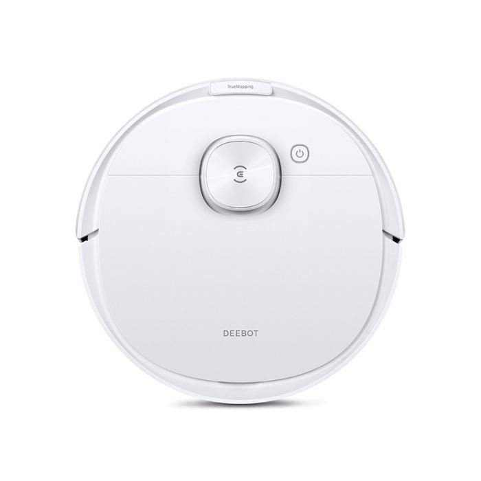Ecovacs Vacuum cleaner DEEBOT N8 Wet&Dry, Operating time (max) 110 min, Lithium Ion, 3200 mAh, Dust capacity 0.42 L, White