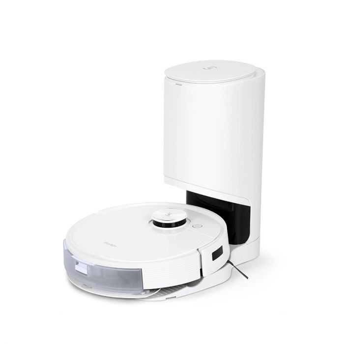 Ecovacs Vacuum cleaner DEEBOT T9+ Wet&Dry, Operating time (max) 175 min, Lithium Ion, 5200 mAh, Dust capacity 0.42 L, White, Battery warranty 24 month(s)