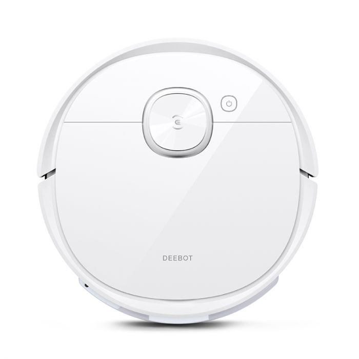 Ecovacs Vacuum cleaner DEEBOT T9 Wet&Dry, Operating time (max) 175 min, Lithium Ion, 5200 mAh, Dust capacity 0.42 L, White, Battery warranty 24 month(s)