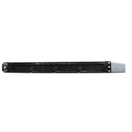Synology Rack NAS RS820RP+ up to 4 HDD/SSD Hot-Swap, Intel Atom C3538 Quad Core, Processor frequency 2.1 GHz, 2 GB, DDR4, Redundant PSU, 0, 1, 5, 6, 10, Hybrid, 4x1GbE, 2xUSB3.0, 1xeSATA, Dual Fan