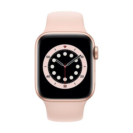 Apple Aluminium Case with Sport Band - Regular LT Series 6 GPS + Cellular 40mm, Smart watch, GPS (satellite), LTPO OLED Always-On Retina, Touchscreen, Heart rate monitor, Waterproof, Bluetooth, Wi-Fi