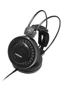 Audio Technica ATH-AD500X Headphones, 3.5mm (1/8 inch), Over-ear, Noice canceling, Black