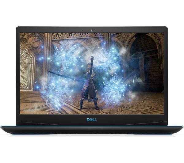 Dell G3 15 3500 Black, Blue logo, 15.6