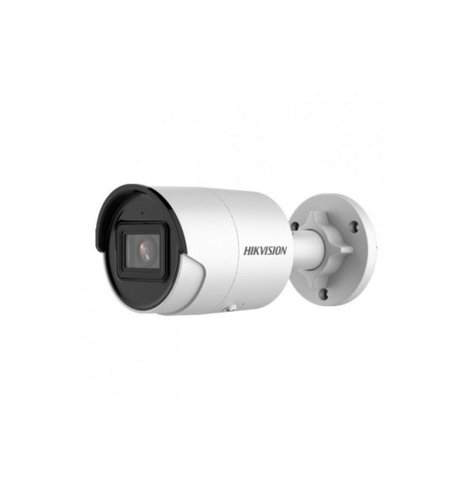 Hikvision IP Bullet Camera DS-2CD2046G2-IU Max IR distance up to 40 m, 4 MP, 4 mm, Power over Ethernet (PoE), IP67, H.264+; H.265+, MicroSD, 256 GB