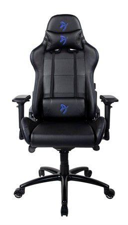 Arozzi Gaming Chair, Verona Signature PU, Black/Blue Logo