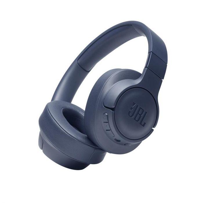 Juhtmevabad kõrvaklapid JBL T710, üle kõrva, sinine