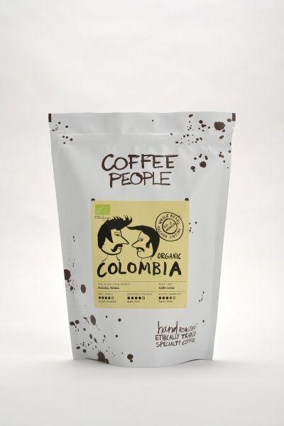 Kohvioad Coffee People Crema Colombia  Tolima,  Planadas Organic (caffe crema) 1kg