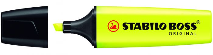 Helestusmarker 2-5mm, kollane Stabilo BOSS 70/24