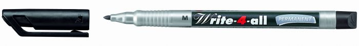 Marker  M-1,0mm must veekindel Stabilo Write-4all