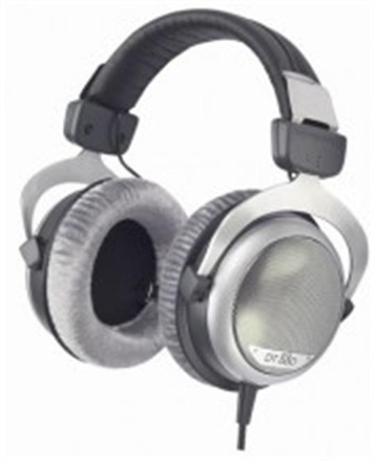 Beyerdynamic Headphones DT 880 Headband/On-Ear, Black, Silver, 32