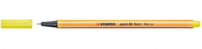 Tindipliiats Stabilo Point 88/024 neoonkollane