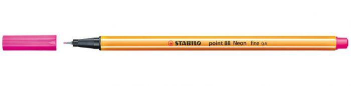 Tindipliiats Stabilo Point 88/056 neoonroosa
