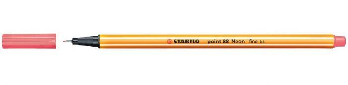 Tindipliiats Stabilo Point 88/040 neoonpunane