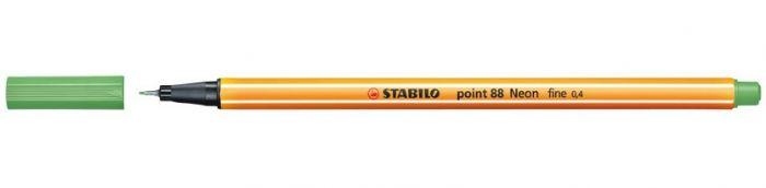 Tindipliiats Stabilo Point 88/033 neoonroheline