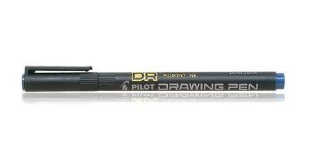 Tindipliiats Pilot Drawing Pen 0,8, joon 0,8 mm, must