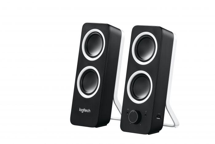 Kõlarid Logitech Z200 Stereo Speakers Midnight Black 2.0 5W RMS (Peak 10W) mustad 2YW