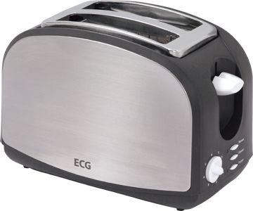 Röster ECG ST968 , roostevaba/must plast, 900W