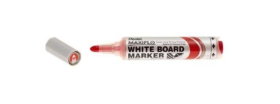 Tahvlimarker MAXIFLO MWL5M punane, ümara otsaga 2mm, Pentel