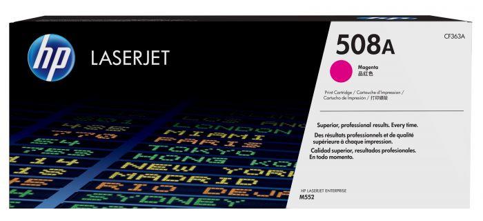 Tooner HP CF363A 508A Color LaserJet Enterprise M552dn, M553dn, M553n, M553x, MFP M577, Magenta 5000lk