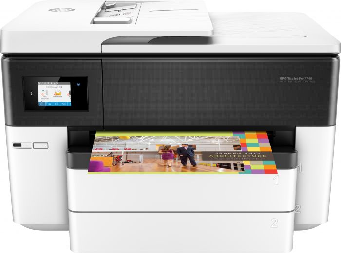 Kontorikombain HP OfficeJet Pro 7740 A3 Wide Format Printer