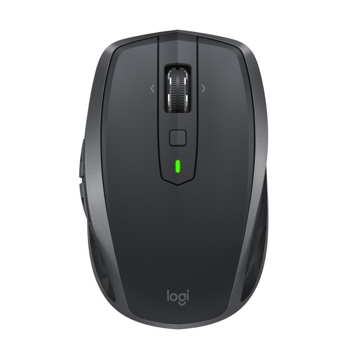 Hiir Logitech Anywhere Mouse 2S wireless mobile mouse, 200dpi-4000dpi,7 button ,Darkfield Laser Tracking (USB Unifying/Bluetooth), aku