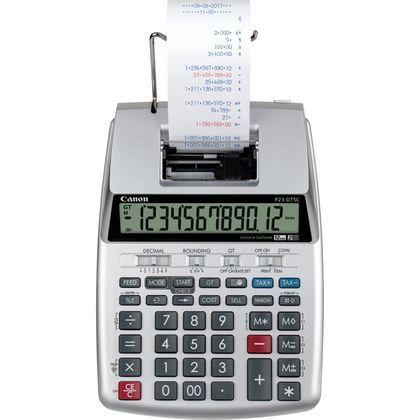 Kalkulaator printeriga CANON P23-DTSC II calculator printing, 1YW, 4XAA-patareid, CP-13 tindirull