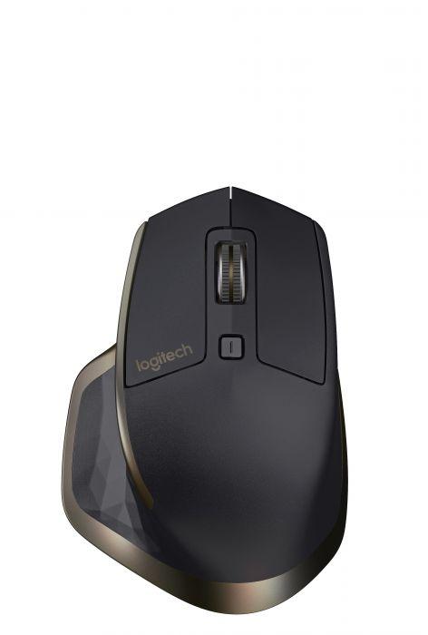 Hiir Logitech MX Master cordless, Darkfield laser tracking, 400-1600dpi, 5-buttons, Dual Wireless (Unifying/Bluetooth) Li-Poly 500mAh 2YW