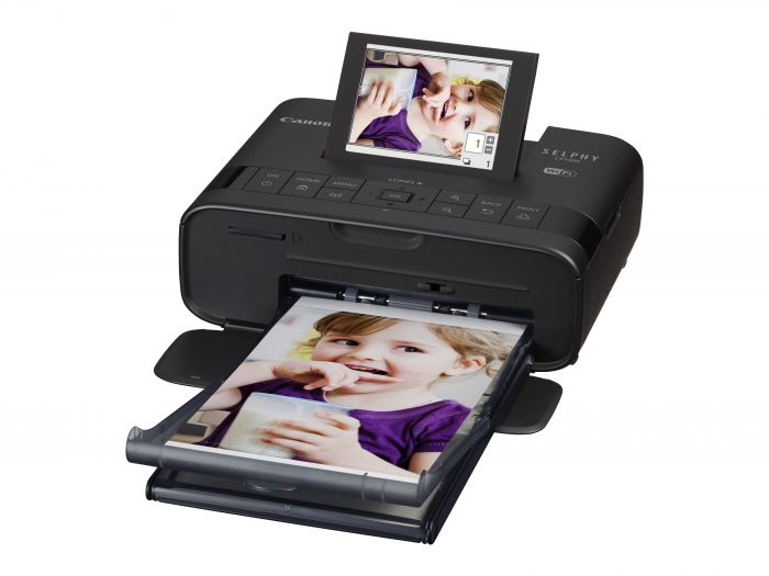 Fotoprinter Canon SELPHY CP1300 Black WiFi, USB