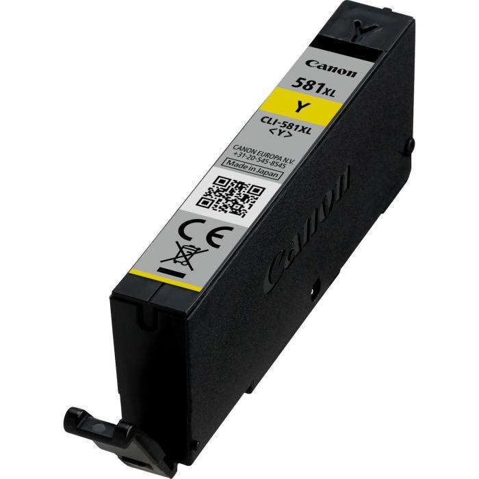 Tint Canon CLI-581XL Yellow PIXMA TR7550/8550 TS6150/6151/6250/6351 TS8150/8151/8152/8250/8350/8352 TS9150/9155/9551