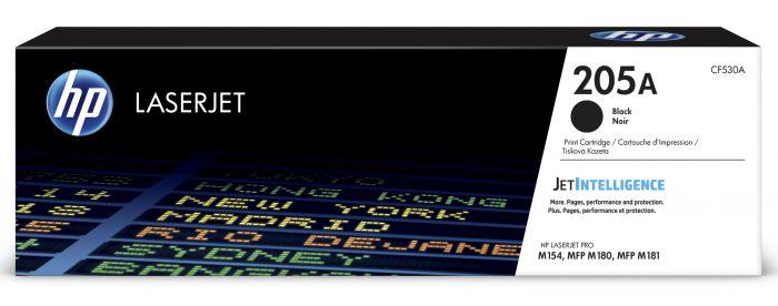 Tooner HP CF530A 205A Black 1100pg for Color LaserJet Pro MFP M180/M181
