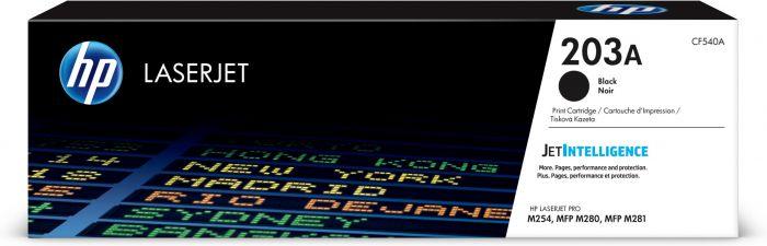 Tooner HP CF540A 203A Black 1400pg for Color LaserJet Pro M254, MFP M280/M281