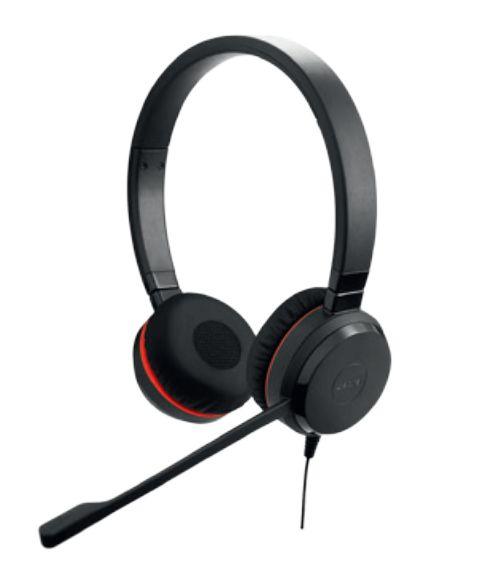 Kõrvaklapid+mikrofon Jabra Evolve 20 Stereo USB professionaalne peakomplekt