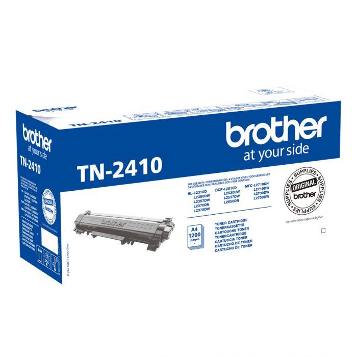 Tooner Brother TN2410 Black 1200lk@5% DCP-L2510DW, L2530DW, L2550DW, HL-L2310D, L2350DW, L2370DN, L2375DW, MFC-L2710DW, L2730DW, L2750DW