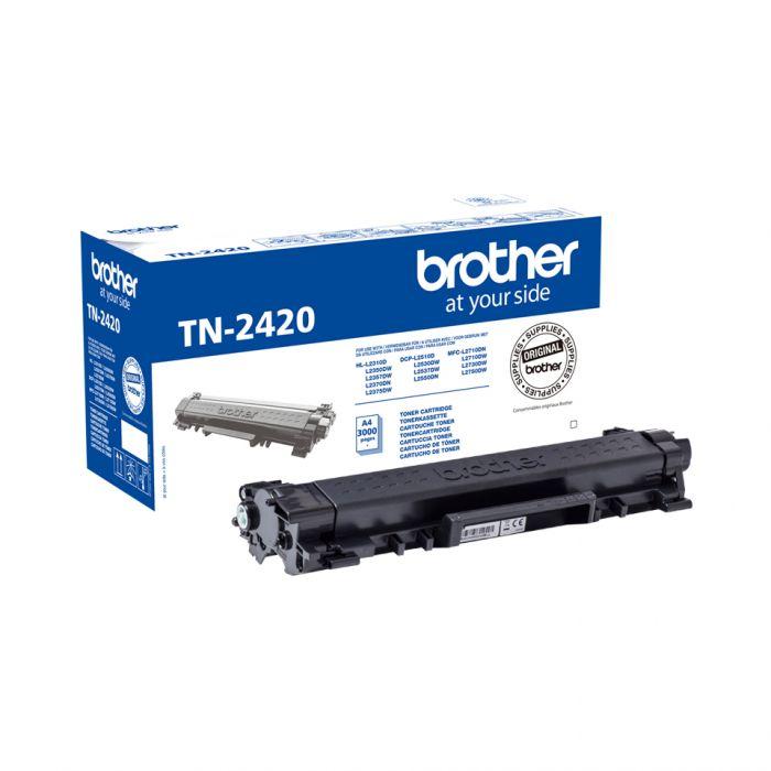 Tooner Brother TN2420 Black 3000lk@5% DCP-L2510DW, L2530DW, L2550DW, HL-L2310D, L2350DW, L2370DN, L2375DW, MFC-L2710DW, L2730DW, L2750DW