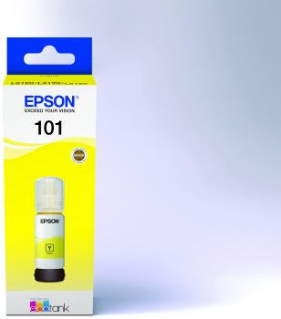 Tint Epson 101 Kollane (tindi mahuti 70ml) EcoTank L4150/L4160/L6160/L6170/L6190