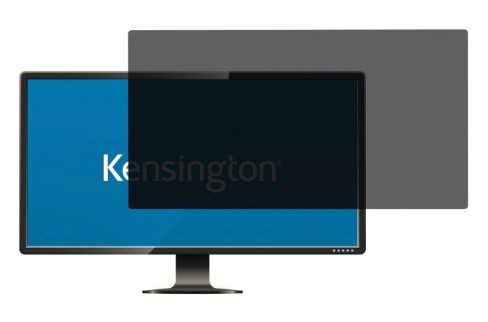 Ekraanifilter Kensington PF25.0 312x554mm 16:9 Wide Screen, must andmekaitsefilter/privaatfilter 25.0