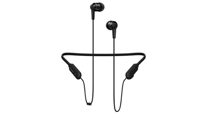 Kõrvaklapid+mikrofon Pioneer SE-C7BT must, Bluetooth NFC 8mm 5Hz–22kHz