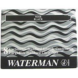Tindiballoon Waterman Standard/pikk must, 8tk/pk