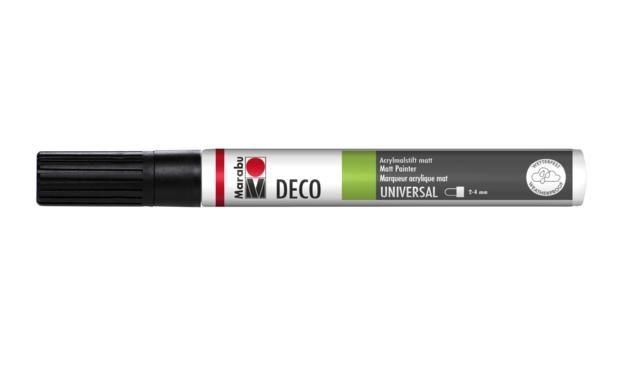 Marker Deco 3-4mm 073 black