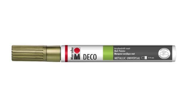 Marker Deco 3-4mm 084 gold