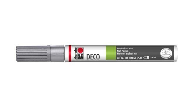 Marker Deco 3-4mm 082 silver