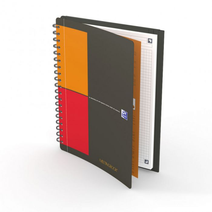 OXFORD INTERNATIONAL MEETINGBOOK, B5, SQUARED